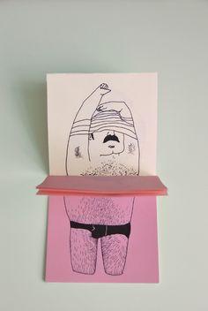 undressing series by tina siuda, via Behance