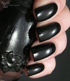Nfu Oh JS01 – black jelly; five coats