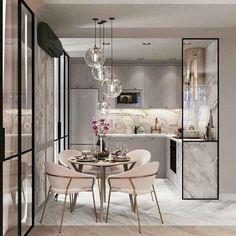 60 Genius Small Dining Room Design Ideas - Home Page House Design, Room Design, Interior, Dining Room Small, Dining Room Design, Home Decor, House Interior, Home Interior Design, Interior Design