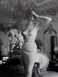 Photo for Triumph Lingerie ad campaign by Jerry Plucer-Sarna, 1950s   Flickr - Photo Sharing!