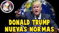NUEVAS NORMAS DE TRUMP PARA EL MUNDO HOY 22 DE JULIO 2017, NOTICIAS ULTI... Donald Trump, World, Youtube, Movies, Movie Posters, Film Poster, Films, Popcorn Posters, Film Posters