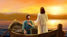 "In John Jesus asked Peter three times: ""Do you love me?"" I will ponder why Jesus asked Peter three times: ""Do you love me? Gospel Bible, Bible Art, Bible Scriptures, Inspirational Scriptures, Jesus Optical Illusion, Jesus Artwork, Why Jesus, Bible Illustrations, Christ The King"