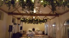 A very beautiful wedding @dorneycourt It was an absolure pleasure to work with Penelope Hunter Flowers to create this canopy of foliage with festoon lights. #weddingflowers #festoonlighting #weddinglighting #eventprofs #wedding #berkshire #buckinghamshire @absolutetaste