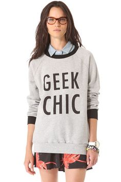 Just the sweater. Slogan Sweatshirts, Quirky Clothes for Winter
