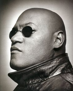 "Laurence Fishburne (July 30, 1961 - ) as Morpheus in ""The Matrix"", 1999. age 38 #actor"