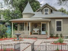 Downtown Victorian Charm - comfortable and spacious!. Located in the heart of historic, downtown Colorado Springs, this 3 bedroom 2 bath 1908 Victorian home...