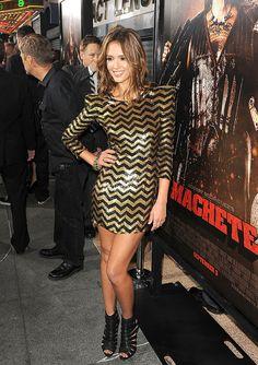 LOVE Jessica Alba's dress
