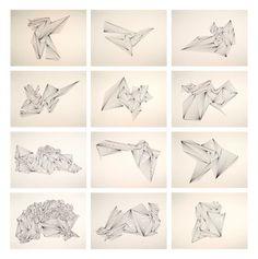 Saatchi Online Artist: Ernesto Walker; Pen and Ink, 2011, Drawing Black Diamonds