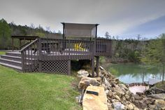 Smith Lake RV & Cabin Resort - Upgrades - add a deck with covered pergola and enjoy for years to come!