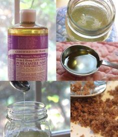 16 Homemade Scrubs ~ Sugar, Salt, Facial, and Body Scrubs by ddwt75