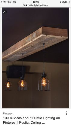 Farm house light pendant lighting wood light kitchen light reclaimed barn wood light fixturesbarrestaurant home rustic lighting with source by callmefaith i do not take credit for the images in this post aloadofball Gallery