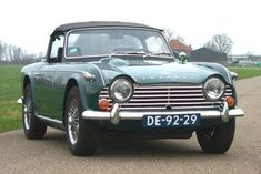 1967 Triumph TR 4A IRS