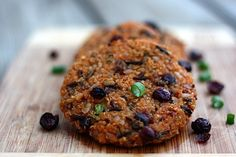 Sweet Potato Quinoa Cakes (by Eating Bird Food)