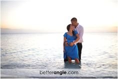 Engagement Session on Seven Mile Beach, Grand Cayman