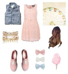 """""""circus outfit"""" by marilyng341 ❤ liked on Polyvore featuring Abercrombie & Fitch, Pilot, River Island, Vans and Decree"""