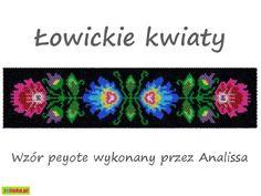 Tutorial - Łowickie Kwiaty - peyote