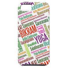 Feel the Heat Bikram Yoga Practioner's Asanas iPhone 5 Covers
