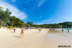 Nai Harn Beach, at the southern end of Phuket