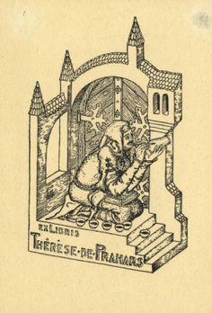 Ex libris - Therese de Prahars