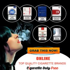 Grab top quality cigarette duty free brands at http://www.cigarettedutyfree.com/  #cigarette #BuyCigarette #CigaretteDutyFree #Free #Smoking #Smokers #CigaretteBrands