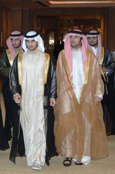 Ahmed, Rashid, Hamdan y Maktoum bin Mohammed bin Rashid Al Maktoum