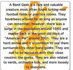 Band Geeks...because we're cooler than you.