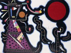 Wassily Kandinsky: Der Rote Kreis. 1939