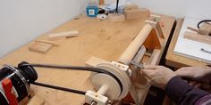 Build a Wood Lathe from Scratch and Start Turning