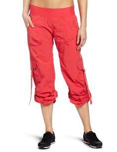 Zumba Fitness LLC Women's Feeling It Cargo Pant, Candy Coral, X-Large Zumba