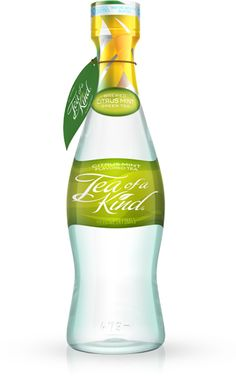 Tea of a Kind | Citrus Mint Green Tea BPA Free All Natural 20 Calories per bottle 2,000+ Antioxidants