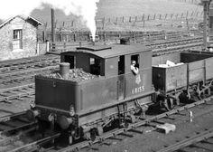 Class Y3 68155. Bridlington. August 1952