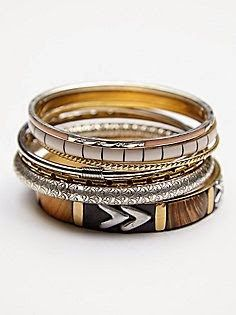 Free People Best of the Best Hard Bangles at Free People Clothing Boutique Other Accessories, Jewelry Accessories, Fashion Accessories, Fashion Jewelry, Presents For Women, Diesel Punk, Bangle Set, Diamond Are A Girls Best Friend, Cyberpunk