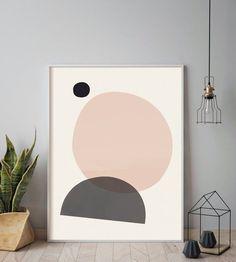 11 x 14 - Modern art Minimalist print Rosegold Rose gold Modern abstract Home decor Geometric print Geometric wall art Minimalist art Modern Geometric Wall Art, Abstract Wall Art, Painting Abstract, Acrylic Paintings, Contemporary Wall Art, Modern Art Prints, Cuadros Diy, Diy Wall Painting, Minimalist Artwork