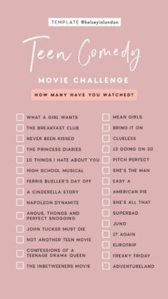 Comedy Movie Challenge Articles - Popular Netflix Movies,Series and Cartoons Suggestions Must Watch Netflix Movies, Comedy Movies On Netflix, Movies To Watch Teenagers, Netflix Shows To Watch, Good Movies On Netflix, Movie To Watch List, Netflix List, List Of Teen Movies, Funny Movies List