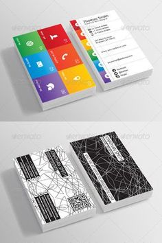 Features: › Double-sided › Front-side horizontal & Back-side vertical › Rounded Corners + Square Corners › CMYK Color Mode › 300 DPI High Resolution › Easy to customize color & edit text.