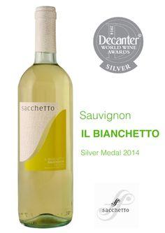 IL BIANCHETTO Sauvignon Igt Delle Venezie 2013 SACCHETTO - silver Medal @ Decanter 2014