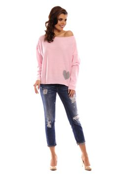 Bluza roz tricotata dama