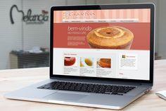 Novo layout do Site criado para Casa de Bolos.