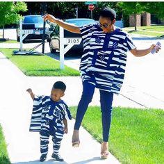 Beautiful mum and Daughter In Shweshwe Dresses for 2020