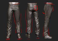 sculpt pants in zbrush Zbrush Tutorial, 3d Tutorial, Zbrush Character, Character Modeling, 3d Character, Drapery Drawing, Sculpting Tutorials, Digital Sculpting, Modeling Tips