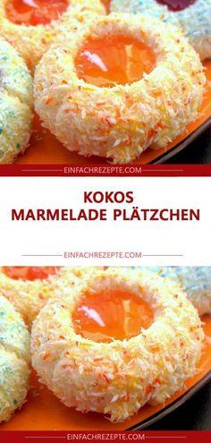 Kokos Marmelade Plätzchen 😍 😍 😍 - Kokos Marmelade Plätzchen 😍 😍 😍 Imágenes efectivas que le proporcionamos sobre Recetas or - Easy Cheesecake Recipes, Easy Smoothie Recipes, Easy Smoothies, Good Healthy Recipes, Healthy Snacks, Snack Recipes, Dessert Recipes, Easy Recipes, Cookie Recipes