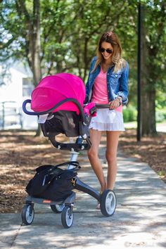 Stokke Xplory stroller + Maxi-Cosi Mico Infant Car seat = A perfect travel system for the on-the-go family