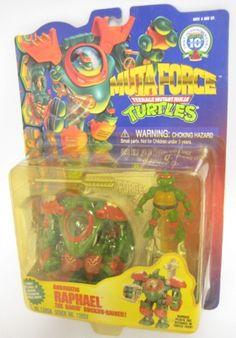 1996 TMNT Muta Force Robotic Raphael