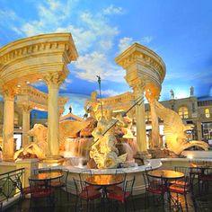 Fountain @ Ceasar's Forum Shops in Las Vegas