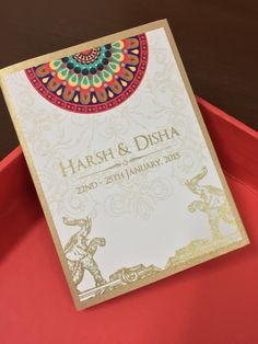 Wedding Invitations,cards, Indian Wedding Cards,invites, Wedding  Stationery, Customized Invitations