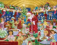 Rudolph Express Jigsaw Puzzle - 1000 Pieces