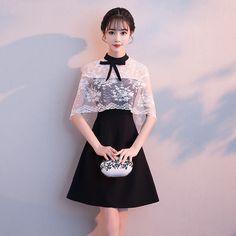 Stylish Black Dress Ideas For Valentines Day - Ultimate Pretty Prom Dresses, Cute Dresses, Beautiful Dresses, Short Dresses, Party Fashion, Cute Fashion, Mode Kawaii, Classy Outfits, Fashion Dresses
