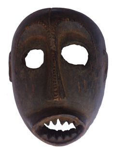 Congolese tribal mask.