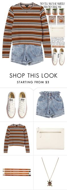 """""""educate yourself and focus on yourself instead of worrying about other people"""" by alienbabs ❤ liked on Polyvore featuring Converse, Monki, Polaroid, Forever 21, clean, organized and shein"""