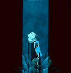 "14. When Kida is possessed by the crystal. | Community Post: 22 Reasons ""Atlantis"" Is The Most Underrated Disney Movie"